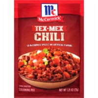 McCormick® Tex-Mex Chili Seasoning Mix - 1.25 oz