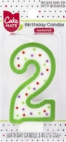Cake Mate Birthday Candle Numeral 2