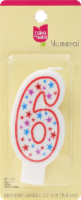 Cake Mate Birthday Candle Numeral 6