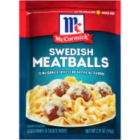 McCormick Swedish Meatballs Seasoning & Sauce Mix - 2.11 oz