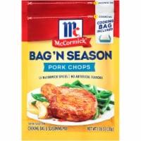 McCormick Bag 'N Season Pork Chop Seasoning Mix - 1.06 oz