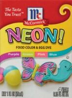 McCormick Neon! Food Coloring & Egg Dye