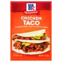 McCormick® Chicken Taco Seasoning Mix - 1 oz