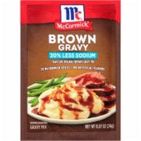 McCormick Less Sodium Brown Gravy Mix