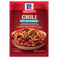 McCormick® Reduced Sodium Mild Chili Seasoning Mix - 1.25 oz