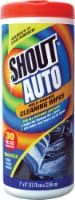Shout Auto Interior Multi-Purpose Cleaning Wipes - 30 ct