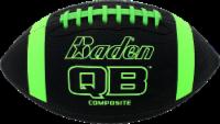 Baden Composite Junior Football - Gray/Neon Green