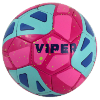 Baden Stryker Micro Mini Soccer Ball - Viper Turquoise/Pink