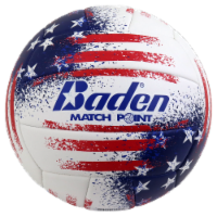 Baden Match Point USA Volleyball - Red/White/Blue