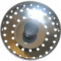 Lasco 1-1/2 In. Chrome Kitchen Sink Basket Strainer Cup with Post 03-1043