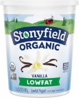 Stonyfield Organic Vanilla Lowfat Yogurt