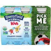 Stonyfield Organic Kids Strawbana Yogurt Smoothie
