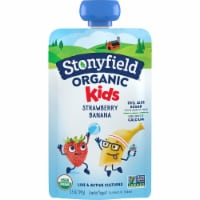 Stonyfield Organic Kids Strawberry Banana Lowfat Yogurt