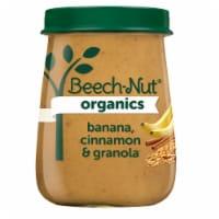 Beech-Nut Organics Banana Cinnamon & Granola Stage 2 Baby Food