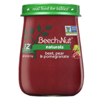 Beech-Nut Naturals Beet Pear & Pomegranate Stage 2 Baby Food