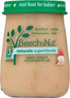 Beech-Nut Naturals Superblends Apple Cinnamon Yogurt & Oat Stage 3 Baby Food