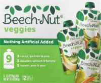 Beech-Nut Veggies Stage 2 Baby Food Variety Pack