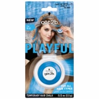 got2b Playful Ice Blue Temporary Hair Chalk