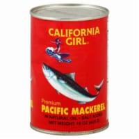 California Girl Pacific Mackerel - 15 oz
