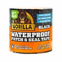 Gorilla® Black Waterproof Patch & Seal Tape - 10 ft x 4 in