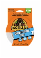 Gorilla® Double-Sided Duct Tape - 1.41 in x 8 yd