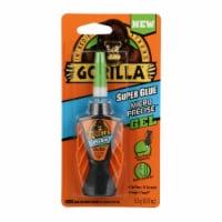 Gorilla 0.19 Oz. Gel Micro Precise Super Glue 102177