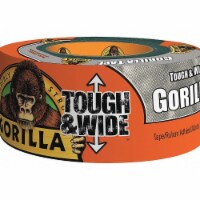 Gorilla Duct Tape,Gray,2 7/8 in x 25yd,16.75 mil  105680 - 1