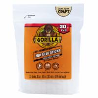 Gorilla® All-Temperature Hot Glue Sticks 30 Pack - 4 in