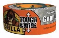Gorilla 2.88 in. W x 25 yd. L Silver Duct Tape - Case Of: 4; - Case of: 4