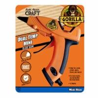Gorilla® Mini Hot Glue Gun - Orange - 1 ct