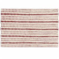 Lintex Genevieve Placemat - Red/White