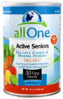 All One Active Seniors Vitamin Powder Dietary Supplement