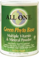All One Nutritech  Green Phyto Base Multiple Vitamin and Mineral Powder