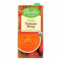 Pacific Natural Foods Organic Soup - Creamy Tomato - 32 fl oz