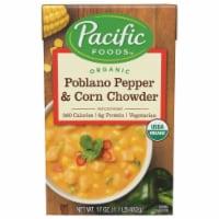 Pacific Poblano Pepper and Corn Chowder