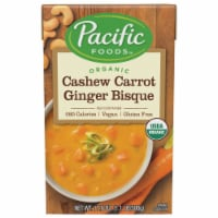 Pacific Foods Organic Cashew Carrot Ginger Bisque