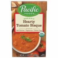 Pacific Organic Hearty Tomato Bisque Soup - 17.6 fl oz
