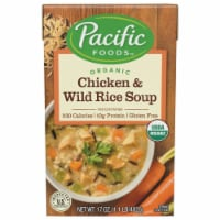 Pacific Foods Organic Chicken & Wild Rice Soup
