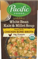 Pacific Organic White Bean Kale And Millet Soup with Chicken Bone Broth