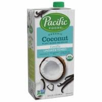 Pacific Foods™ Organic Coconut Unsweetened Vanilla Plant-Based Beverage - 32 fl oz