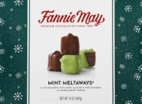 Fannie May Mint Meltaways Boxed Milk Chocolate