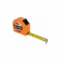 Keson Tape Measure,1 In x 25 ft/7.5m,Orange HAWA - 1