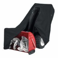 Classic Accessories Two - Stage Snow Thrower Cover with Tall Chute