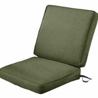 Classic Accessories 62-055-HFERN-EC Montlake Fadesafe Patio Chair Cushion, Heather Fern - 44