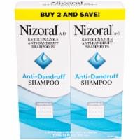 Nizoral A-D Anti-Dandruff Shampoo 2 Count