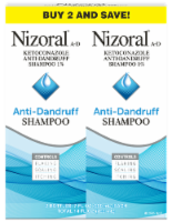 Nizoral Anti-Dandruff Shampoo Twin Pack