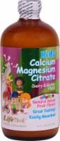 Lifetime  Kids' Liquid Calcium Magnesium Citrate   Natural Mixed Fruit