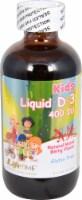 Lifetime Kids' Natural Mixed Berry Vitamin D-3 Liquid Supplement 400 IU
