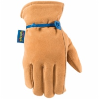 Wells Lamont HydraHyde Men's XL Suede Cowhide Insulated Work Glove 1194XL