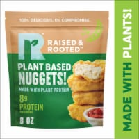 Raised & Rooted Nuggets Made with Plants
